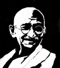 Gandhi sepia2